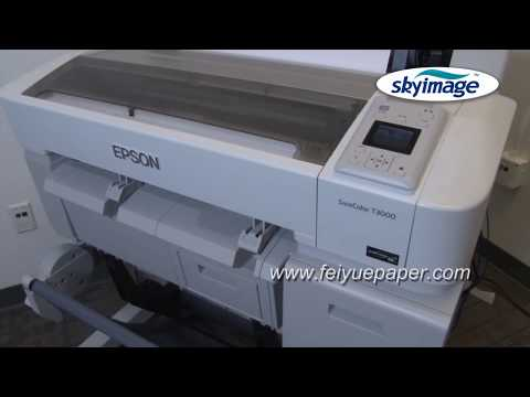 Process for Print Images on Board by Epson Surecolor T-series Wide Format Printer