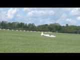 Twister plane Crash landing at Abingdon air show 2017
