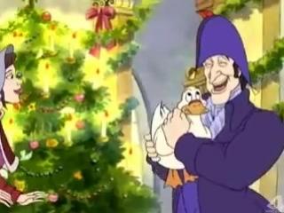 Рождественский мультик Тихая ночь (Песня 2)