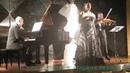 Marília Morgen Richard Straus com Alexey Shakitko e o Violinista Cristiano Quinzembe