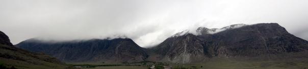 Горная панорама.