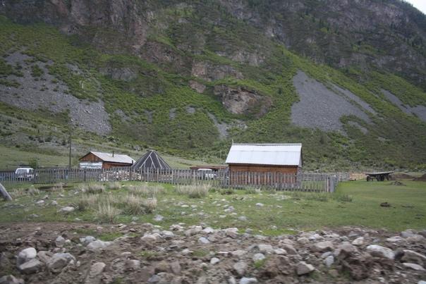 Деревня Кё, аил как обязательный атрибут.