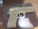 Создаём пистолет резинкострел Beretta M9