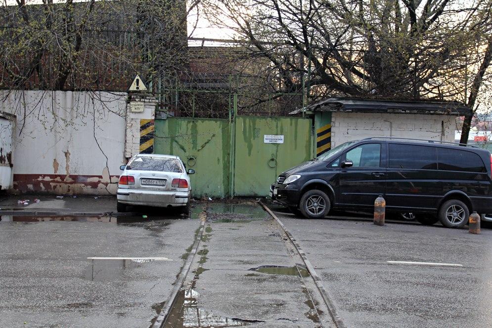 Заброшенные парк Бойня-город и подъездные пути Микояновского МК