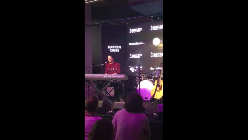 Darren Criss sings The Day That The Dance Is Over at ASCAPMusicCafe