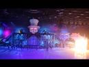 Окончание Новогоднего ледового спектакля И.Авербуха Щелкунчик и Мышиный король