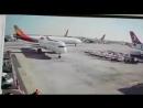 Airbus A330 принадлежащий Южнокорейской авиакомпании Asiana задел хвост в самолета Airbus 321 принадлежащий Турецким Авиалини