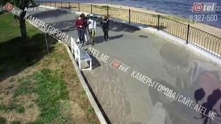 Вандалы в Рыбинске