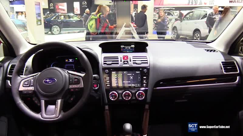 2018 Subaru Forester XT - Exterior and Interior Walkaround - 2018 Montreal Auto Show