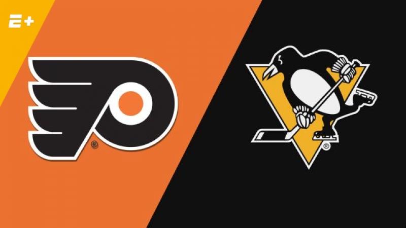 Philadelphia Flyers vs Pittsburgh Penguins 20 04 2018 Round 1 Game 5 NHL Stanley Cup Playoffs 2018 Eurosport Gold RU