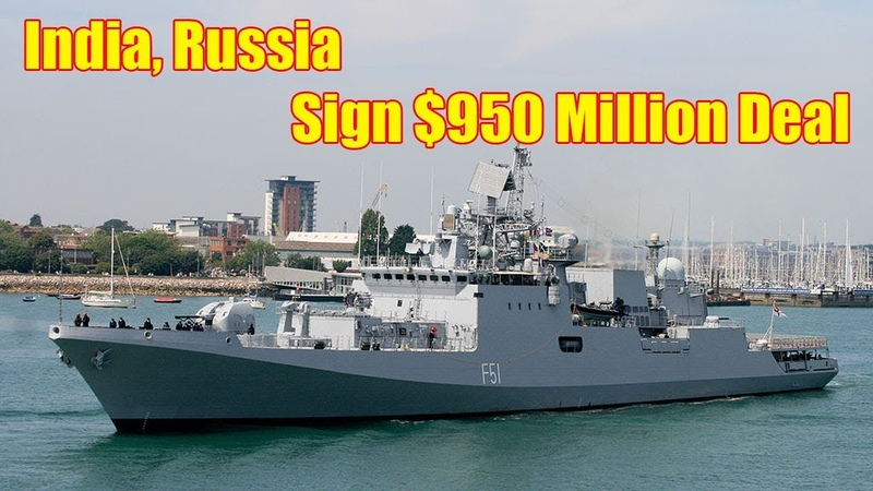 India Finalizes the Deal for Two Russian Frigates Off the Shelf for $950 Million
