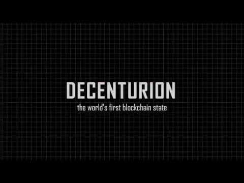 DECENTURION - регистрация в блокчейн государстве. Децентурион