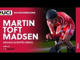 UCI Hour Record timed by Tissot Aguascalientes (MEX) Martin Toft Madsen