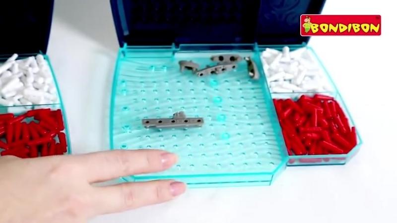Настольная игра BONDIBON Морской Бой ( 480 X 854 ).mp4