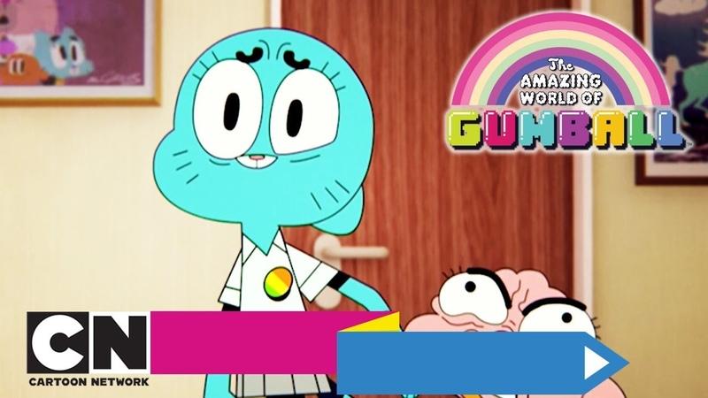 Удивительный мир Гамбола | Чужая машина Проклятие (серия целиком) | Cartoon Network
