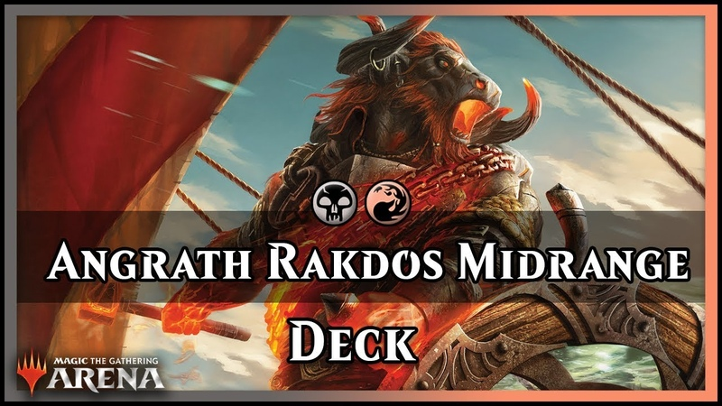 Angrath Rakdos Midrange | Guilds of Ravnica Red/Black Deck [Magic Arena]
