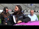 Jared Leto hitchhikes by TMS and gets a wild ride