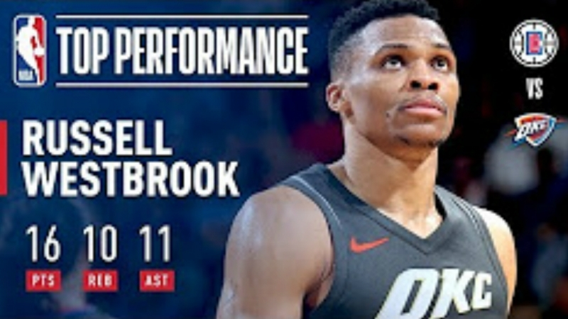 Mr. Triple Double Strikes Again vs The Clippers