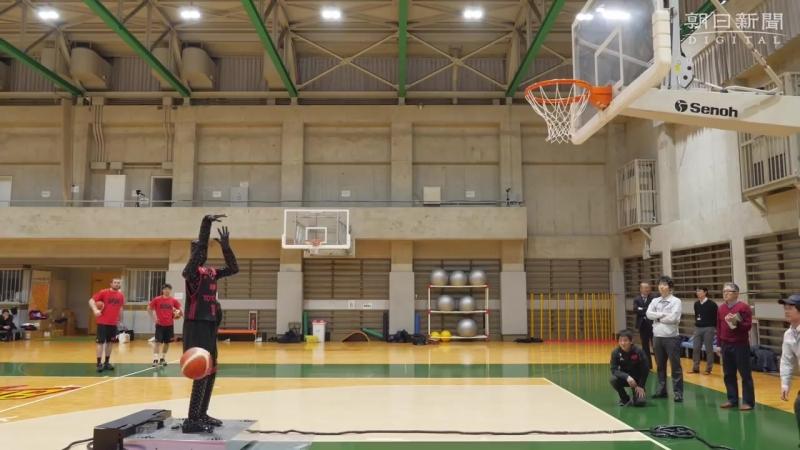 Робот баскетболист