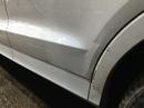 Наши работы по Audi Q3 : Кузовные работы по капоту, переднему правому крылу, дверь передняя левая и задняя левая. Покраска капота, переднего правого крыла, переднего бампера, дверей и молдингов.
