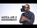 MOZA Air 2 Inception Mode and Sport Gear Mode First Test