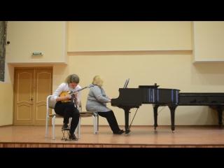И. Тамарин концерт для домры с оркестром 2 ч. Интермеццо исполняет Федотова Алена Сергеевна