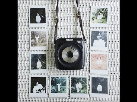 Double Exposure Pre Wedding With Instax Square SQ10
