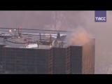 В Нью-Йорке горит здание Trump Tower