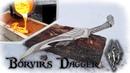 Casting a Aluminum Bronze Dagger From The Game Skyrim Borvir´s Dagger