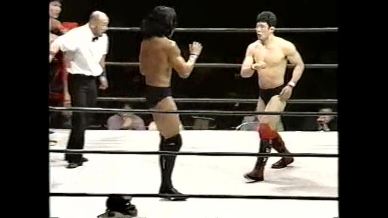 Kiyoshi Tamura Kazuo Yamazaki - Yoshihiro Takayama Kazushi Sakuraba