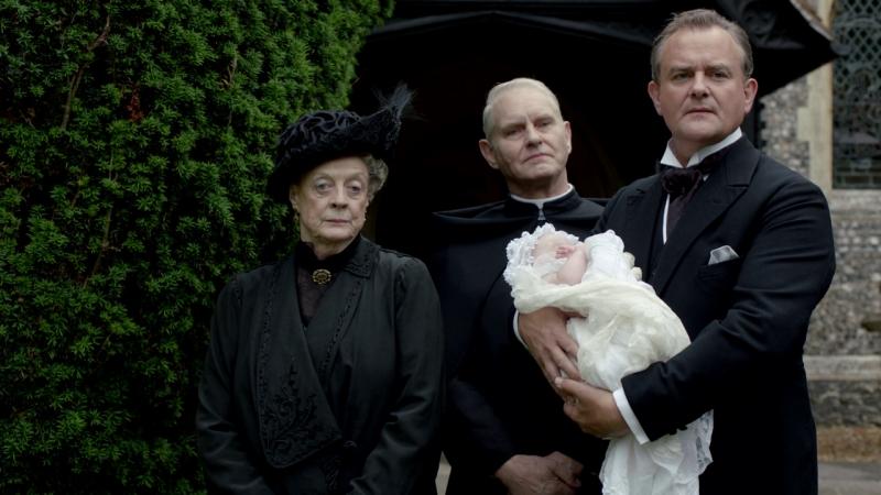 Downton abbey |3х07| Роберт и отец Доминик