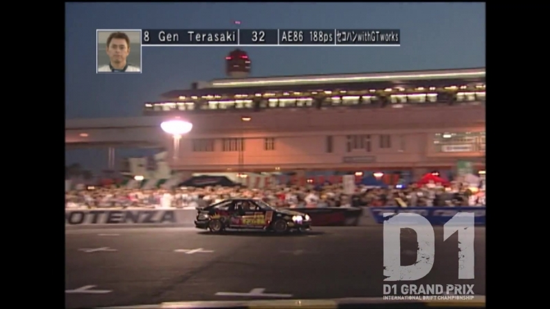 D1GP 2004 Rd.2 at Odaiba 1.
