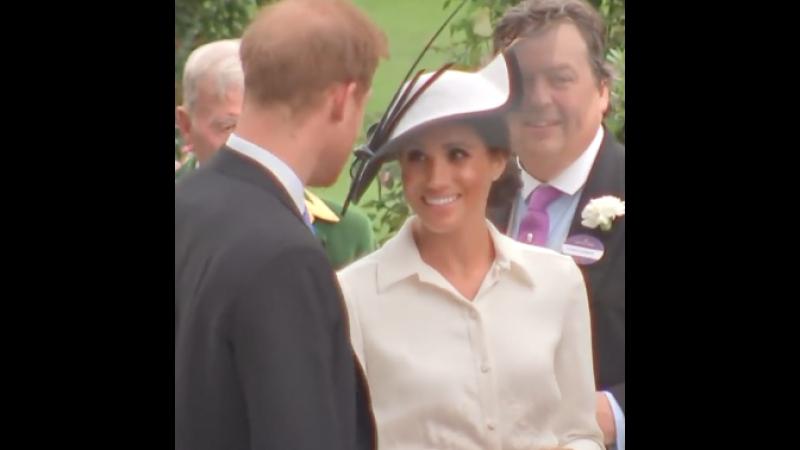 Меган Маркл и принц Гарри посетили открытие Royal Ascot