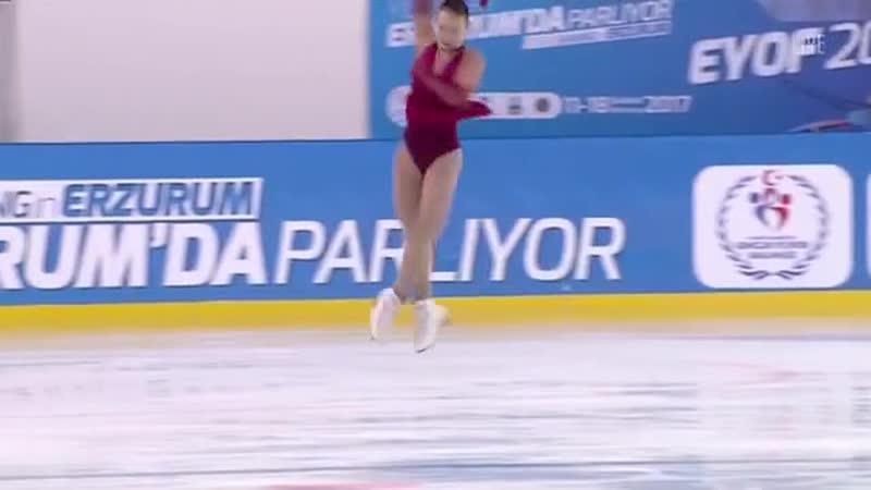 EYOF 2017 FS Paroshyna Hanna