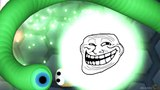 Slither.io Secret Skins INVISIBLE Trolling Longest Snake In Slitherio! (Slitherio Funny Moments)