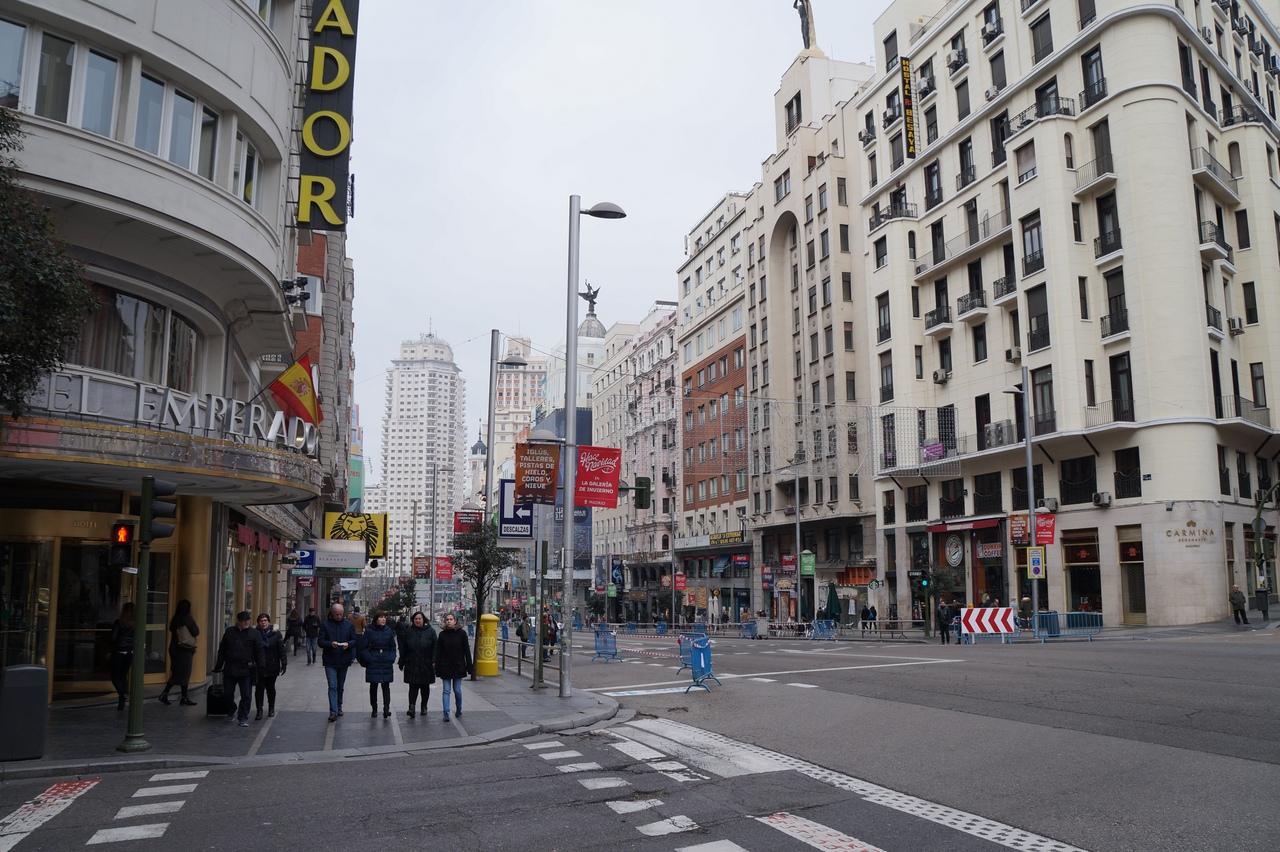Гуляя по Мадриду