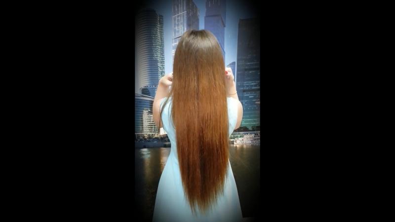 Ленточное наращивание волос.