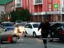 Он хромал и еле держался на ногах после драки? Очевидцы помогли мужчине, который сидел прямо на проезжей части в центре Челябинс