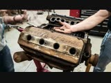 Chrysler Hemi FirePower V8 Engine Rebuild Time-Lapse