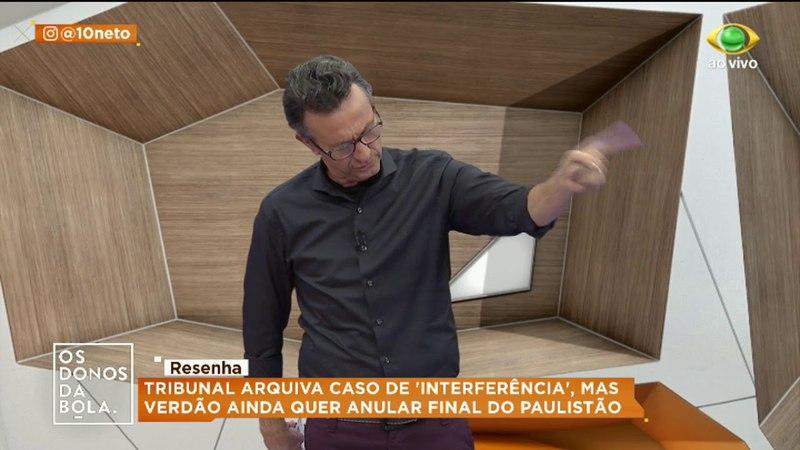 Neto e Ronaldo cantam Evidências e alopram Velloso