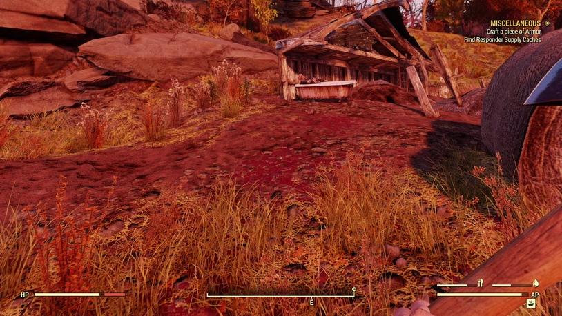 Aaronholt Homestead в Fallout 76