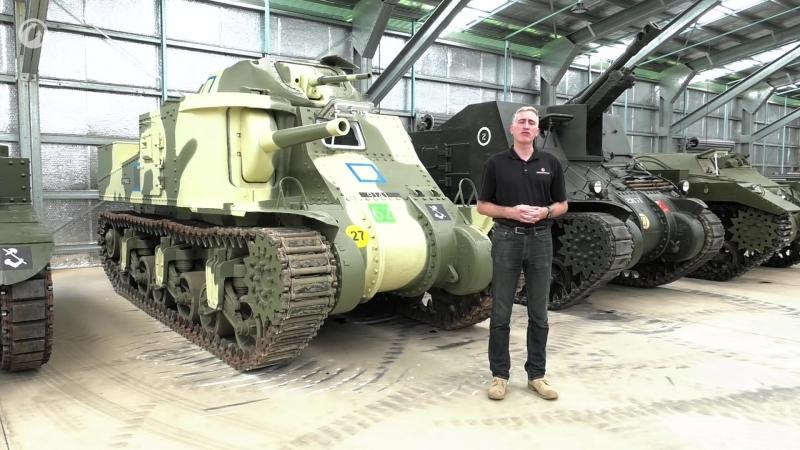 Рассмотри танк M3 Grant. В командирской рубке. Часть 1 [World of Tanks]