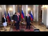 В Хельсинки началась встреча Путина и Трампа