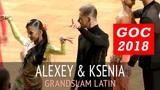Malthe Brinch Rohde &amp Sandra Sorensen Джайв GOC2018 GrandSlam LATIN - 3тур