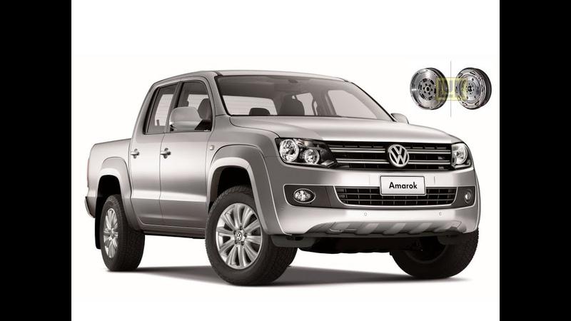Volkswagen Amarok замена сцепления и двухмассового маховика