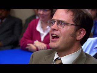Офис [The Office] / 3 сезон - 8 серия / «Слияние» [The Merger]