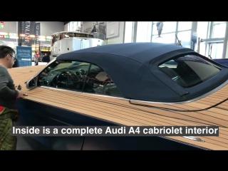Audi A4 cabriolet interior