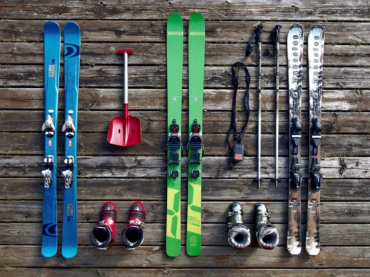 зимние спортивные товары из Германии