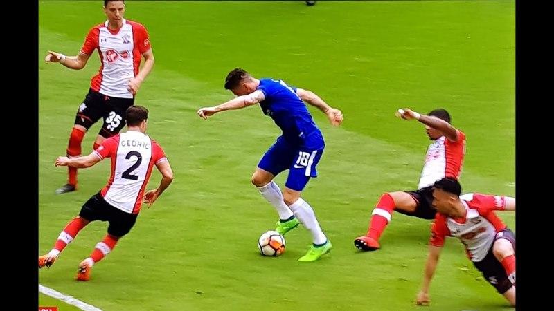 Olivier Giroud GREAT SOLO GOAL vs Southampton!! (FA Cup Semi-Final)