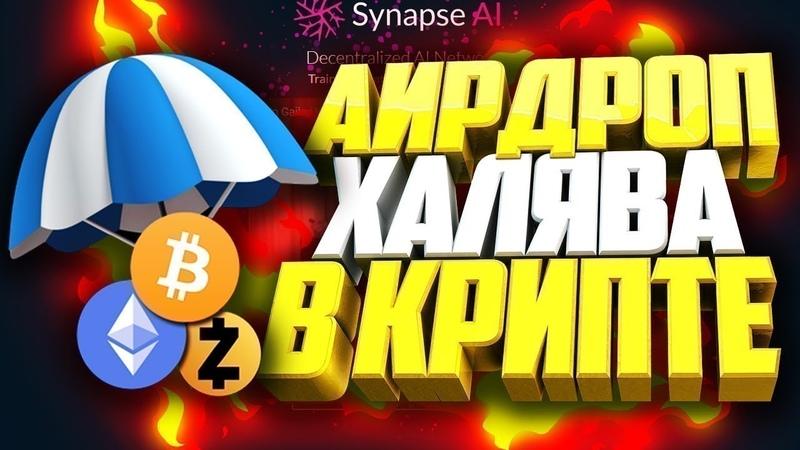 Airdrop Раздача HINT на 10$ - Заработок Криптовалюты